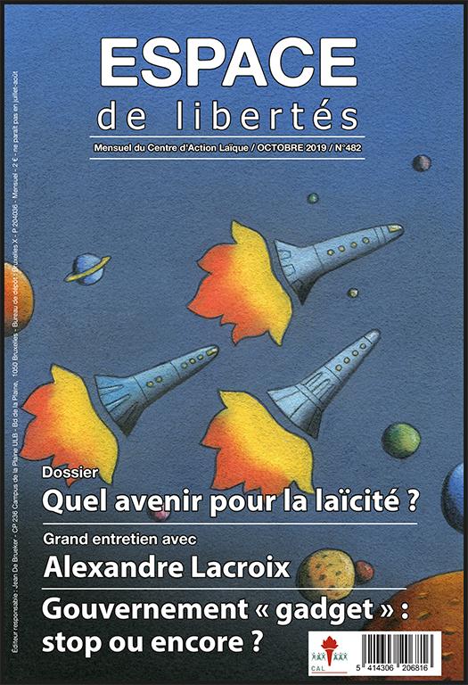 Espace de libertés | Octobre 2019 (n° 482)