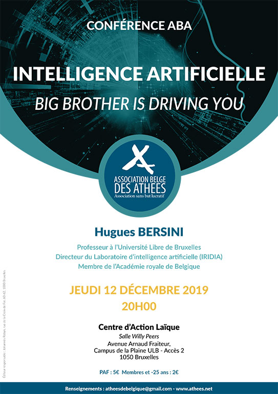 Intelligence artificielle   Big brother is driving you