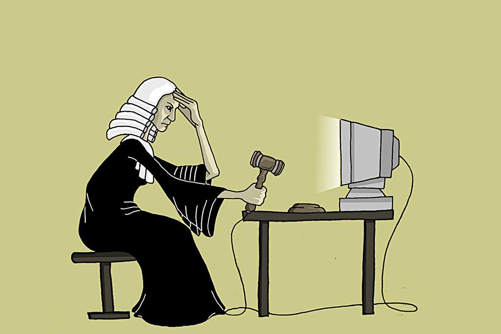 La loi en porte-à-faux