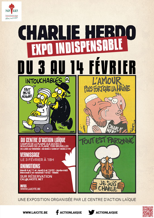 Charlie Hebdo. L'expo indispensable