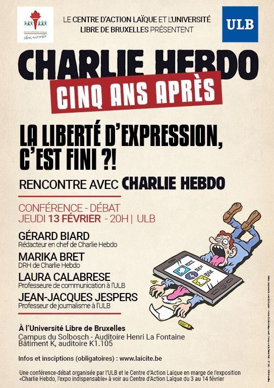 Charlie Hebdo: cinq ans après | La liberté d'expression, c'est fini?!