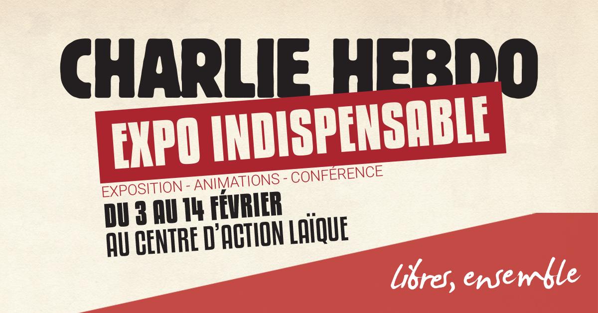 Charlie Hebdo. L'expo indispensable