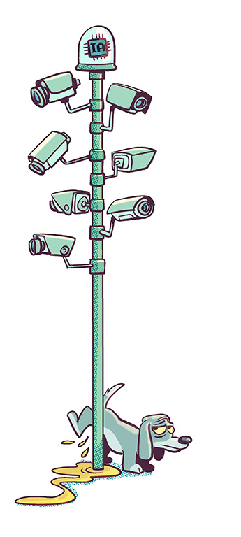 De la vidéosurveillance aux villes intelligentes