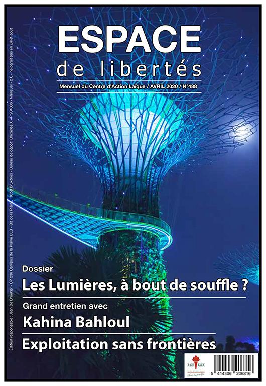 Espace de libertés | Avril 2020 (n° 488)