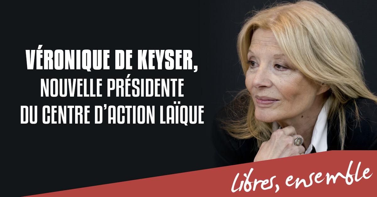 Véronique De Keyser élue présidente du Centre d'Action Laïque