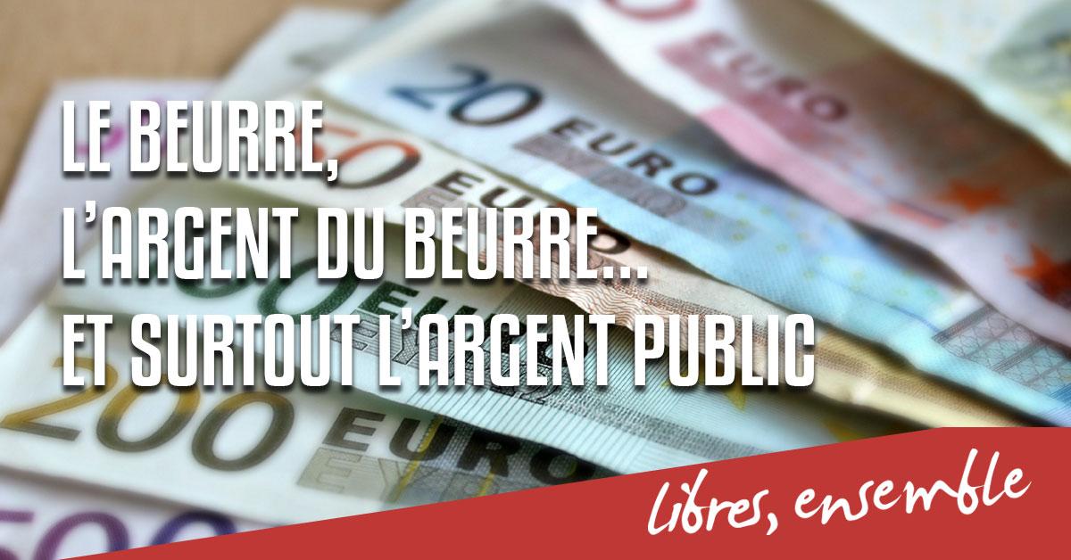 Enseignement catholique et Covid: le beurre, l'argent du beurre, et surtout l'argent public!