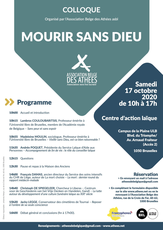 MOURIR SANS DIEU