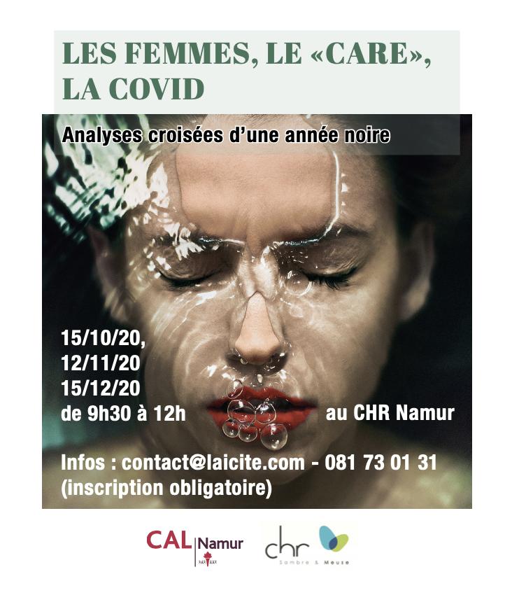 Les femmes, le « care » et la Covid: analyses croisées d'une année noire (2/3) – ANNULÉ