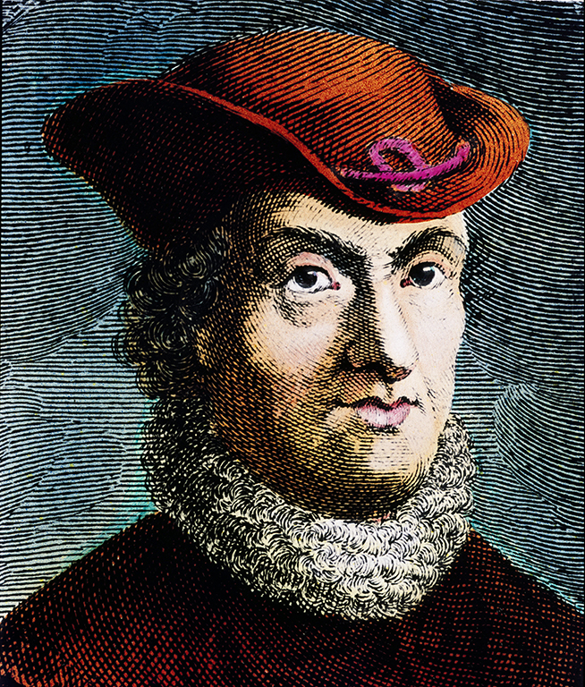 """Portrait de Baruch Spinoza (1632-1677), philosophe hollandais, egalement connu comme Bento de Espinosa ou Benedictus de Spinoza ou Benoit de Spinoza."" Gravure Collection privee ©Luisa Ricciarini/Leemage"