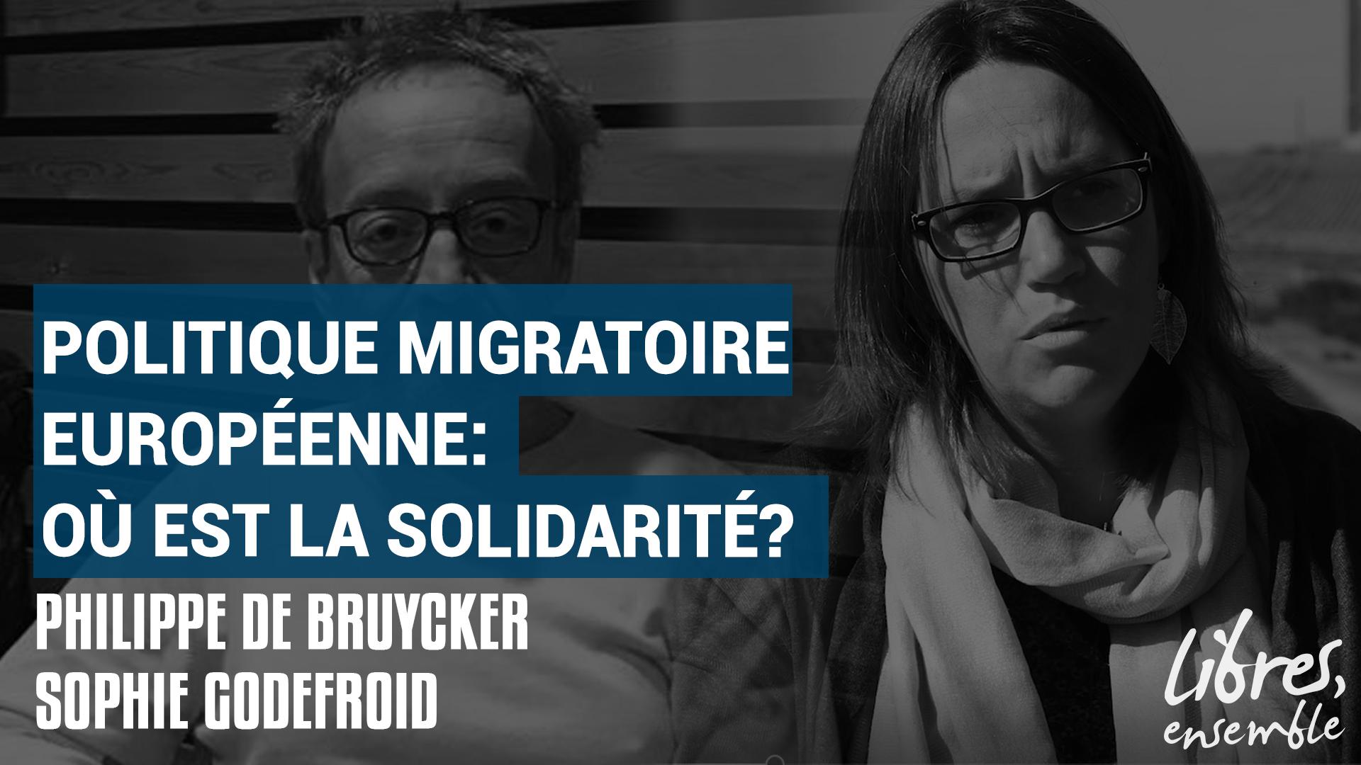 Politique migratoire européenne: où est la solidarité?