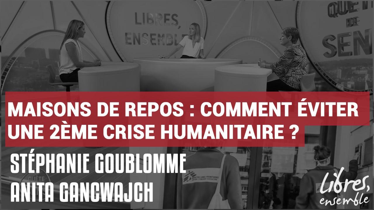 Maisons de repos : comment éviter une 2ème crise humanitaire ?