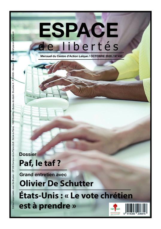 Espace de libertés | Octobre 2020 (n° 492)
