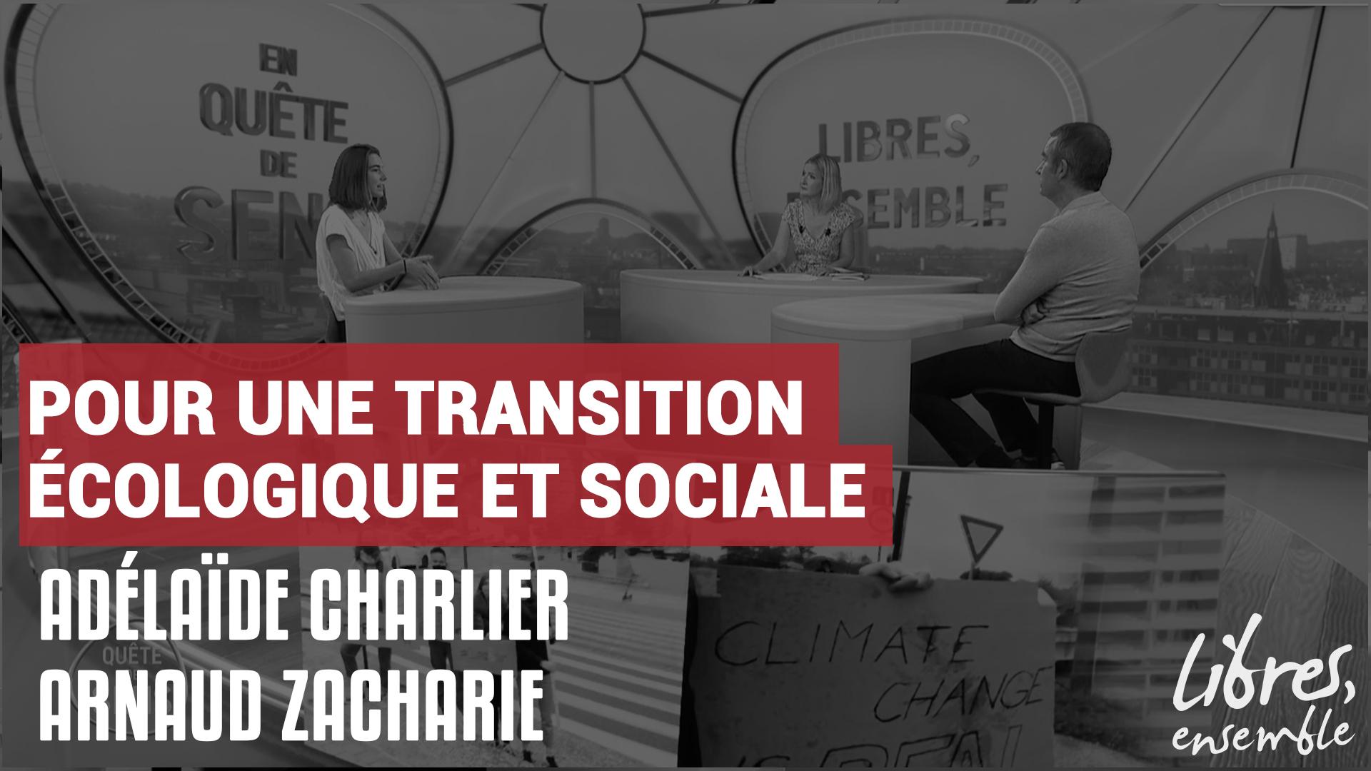 Pour une transition écologique et sociale