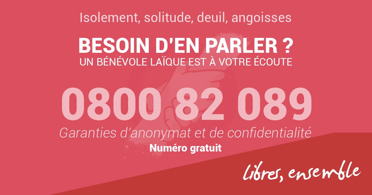 0800 82 089: un numéro gratuit pour rompre l'isolement en période de pandémie