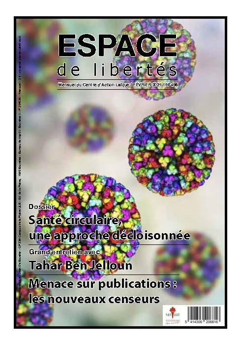 Espace de libertés | Février 2021 (n° 496)
