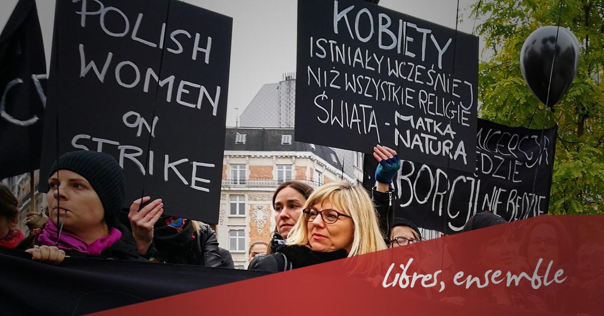 IVG en Pologne: le Centre d'Action Laïque répond la Commission des Épiscopats de l'Union européenne