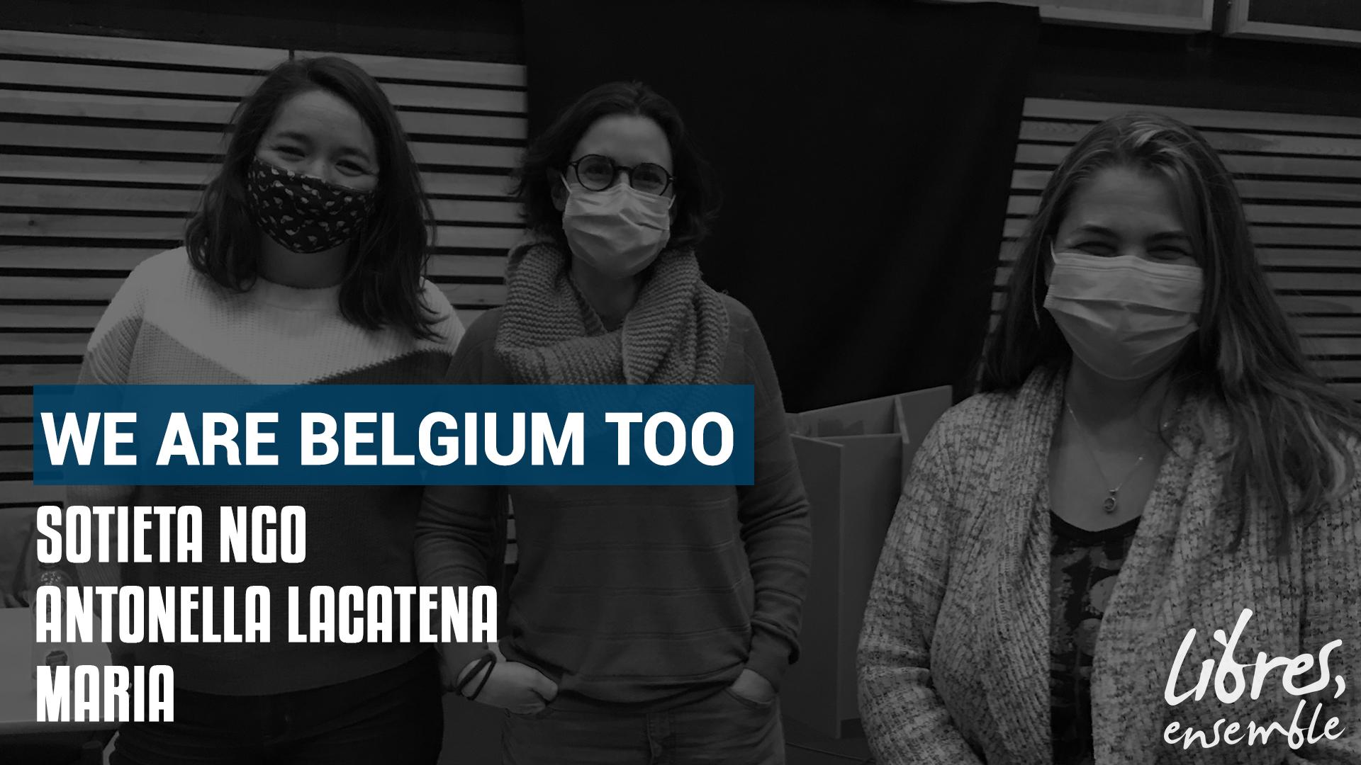We are Belgium too