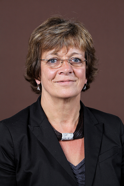 Belgian politician (Ecolo), Vice president of European Parliament Isabelle Durant poses during a photo session in november 2013, in Brussels.
