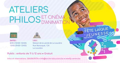 Ateliers philos et cinéma d'animation