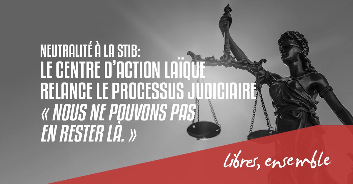 Neutralité à la STIB:  le Centre d'Action Laïque relance le processus judiciaire