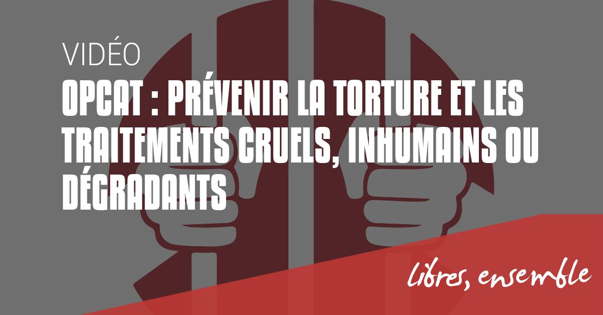 Journée internationale de soutien aux victimes de la torture, les ONG alertent: la Belgique n'a toujours pas de mécanisme national de prévention