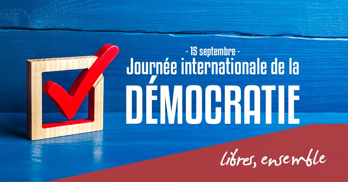 La démocratie est notre bien commun, affirmons-la contre les menaces!