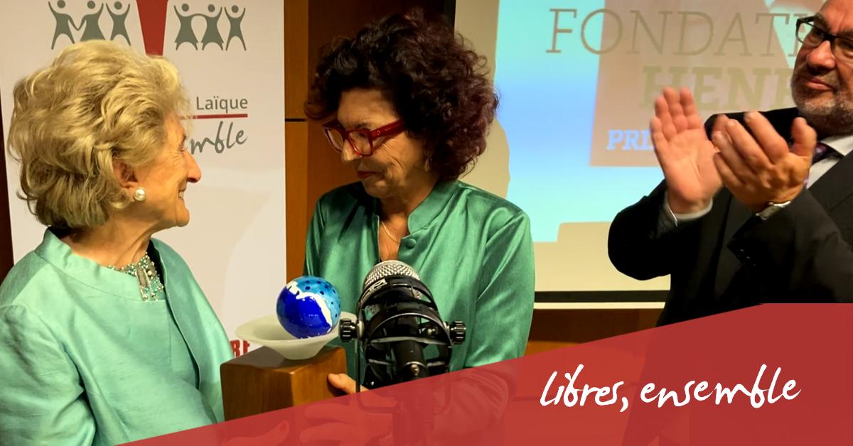 Prix Henri La Fontaine 2021