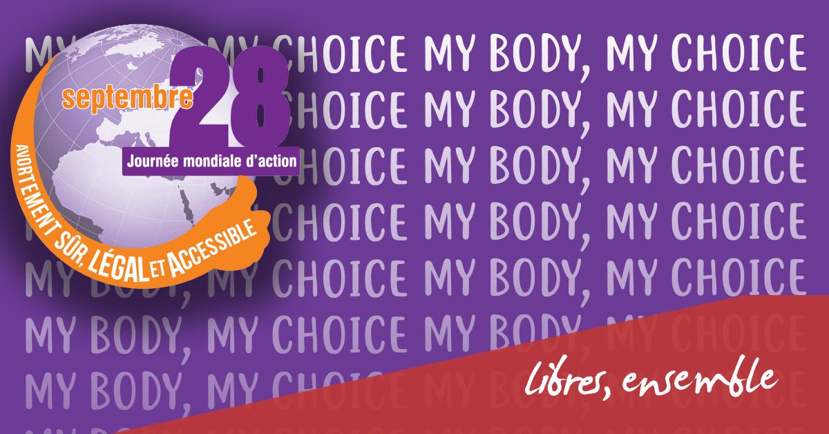 #28Septembre | La Belgique doit prendre en compte toutes les femmes!