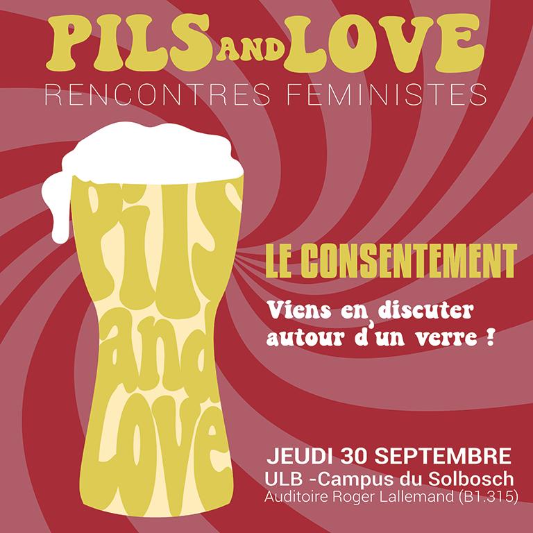 Pils & Love: rencontres féministes (1/3) | Le consentement