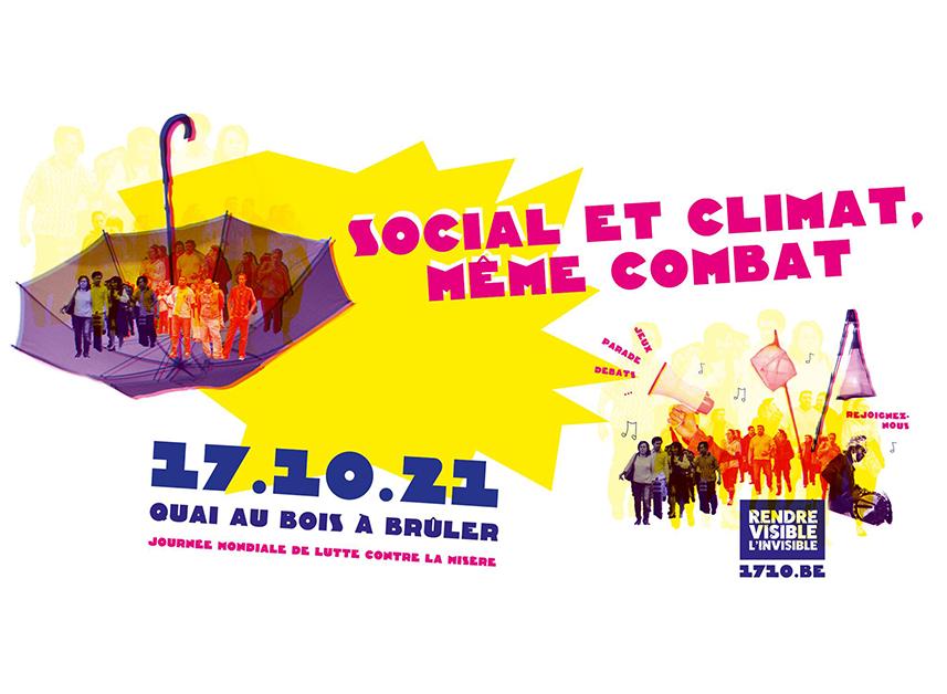 Journée mondiale de lutte contre la misère   Social et climat, même combat