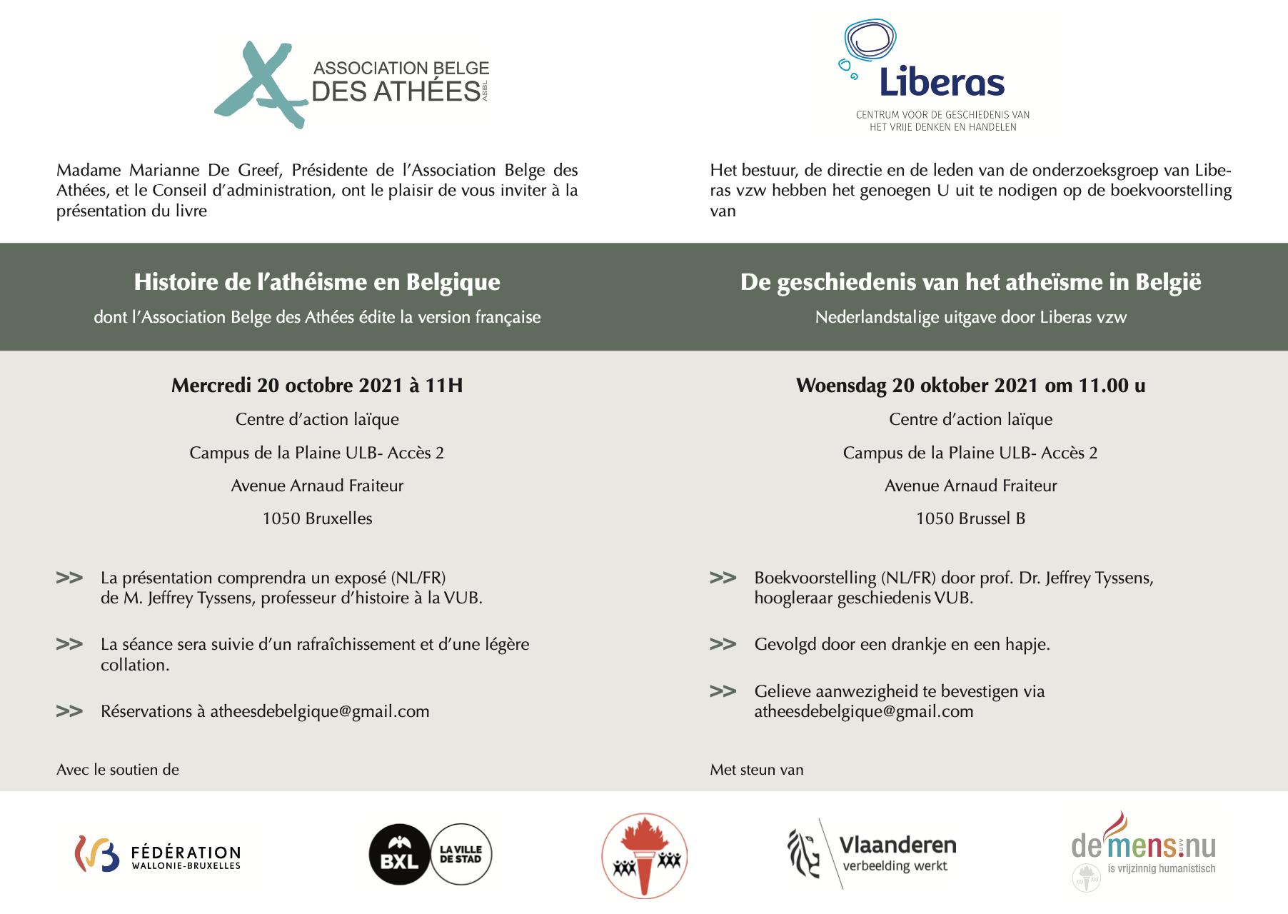 Histoire de l'athéisme en Belgique